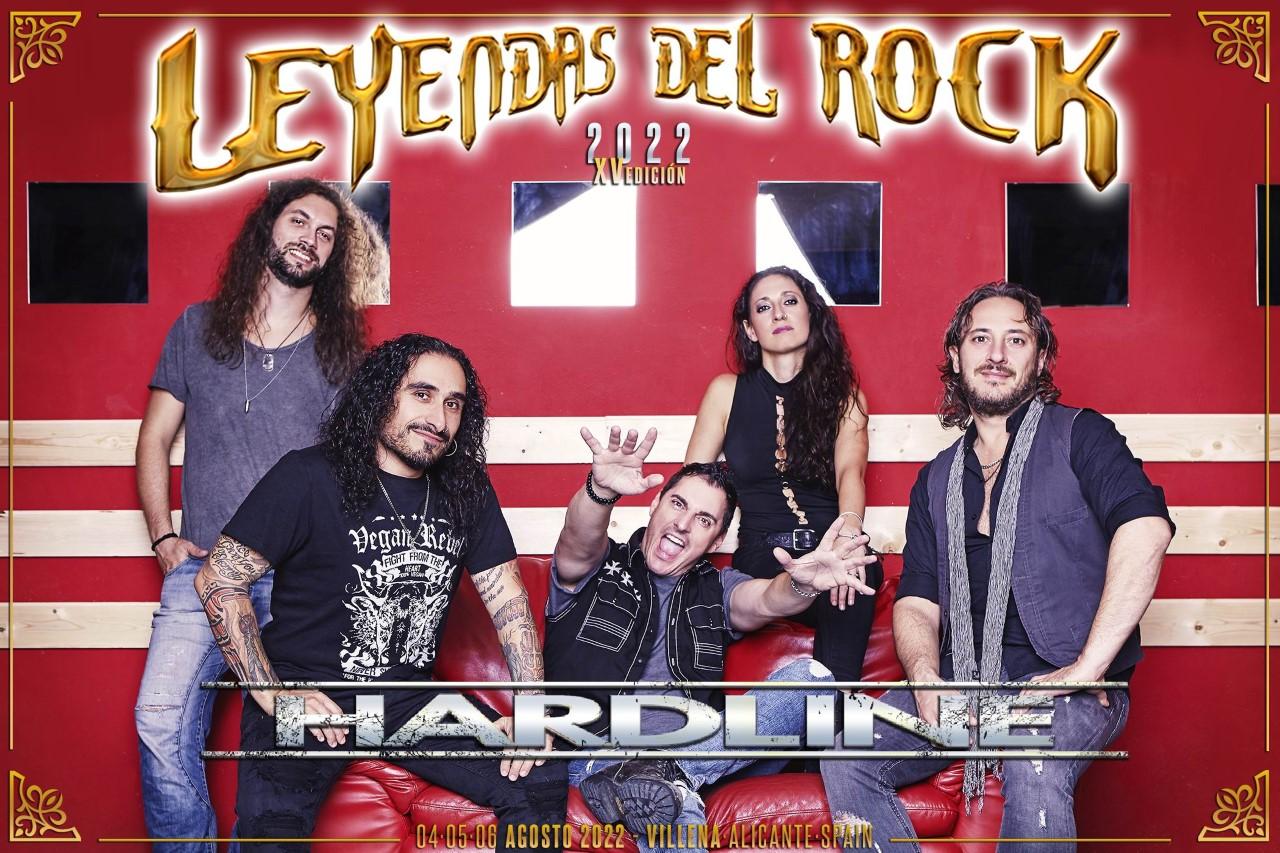 leyendas del rock 2022 - hardline
