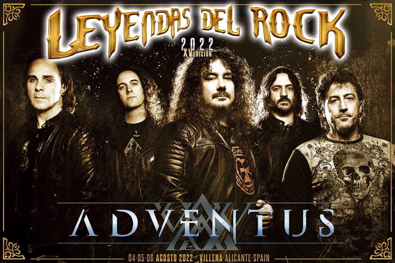 leyendas del rock - adventus
