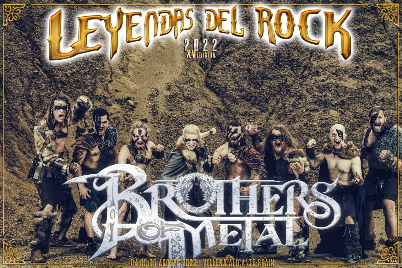 leyendas del rock - brothers of metal pic 1