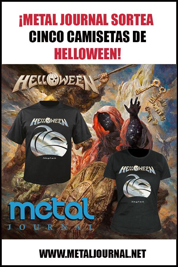 metal journal - sorteo helloween