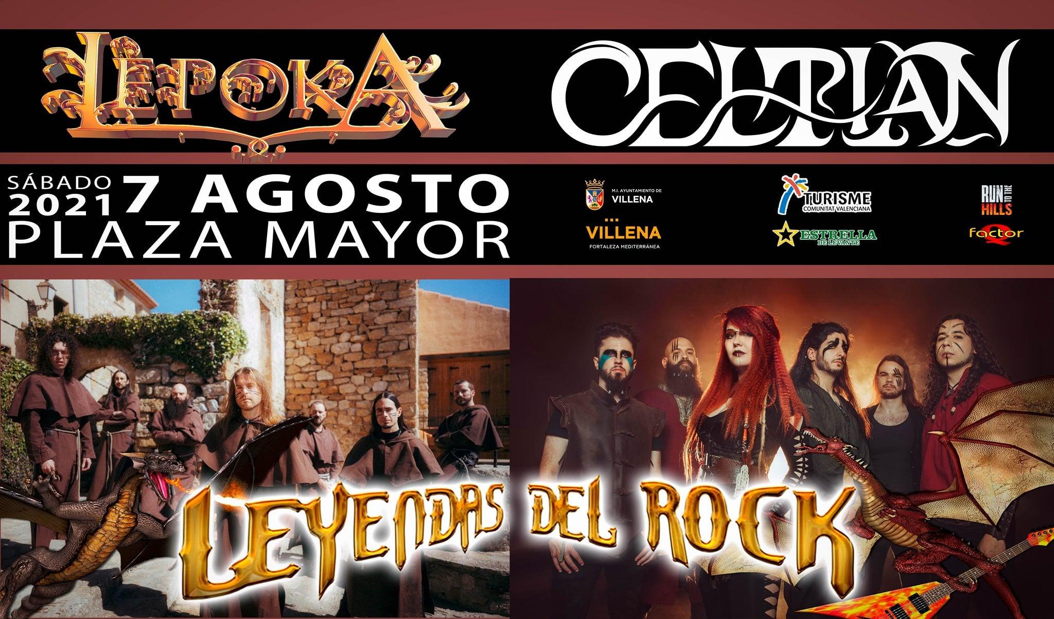 lèpoka y celtian - leyendas del rock