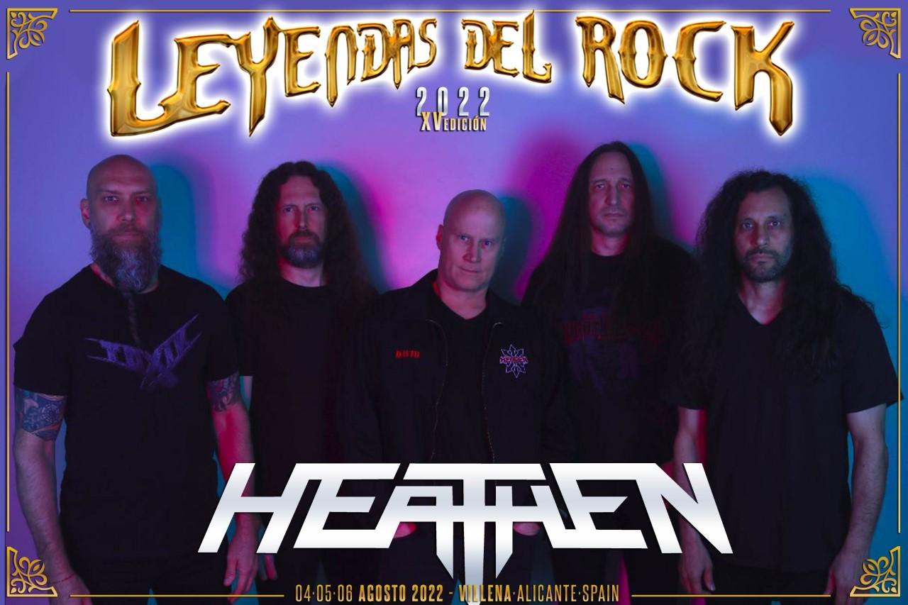heathen - leyendas del rock