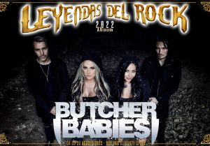 butcher babies - leyendas del rock